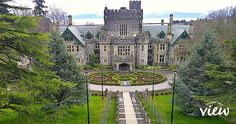 Hatley Castle - one of the must see stops on the Ultimate Vancouver Island Bucket List - Vancouver Island View Vancouver Vacation, Vancouver Travel, Vancouver Island, Alaska Travel, Canada Travel, Canada Trip, Places To Travel, Places To See, Hatley Castle