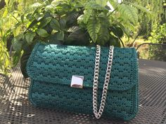 Pochette color verde