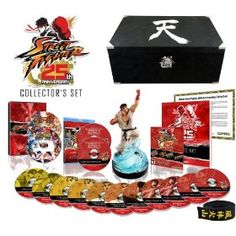 Street Fighter 25th Anniversary Collector's Set, (diablo, blizzard, pc, video games, permanent internet connection drm, action rpg, drm, mac, ps2 controller, fighting game)