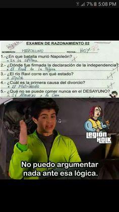 Genio total, ok no wey xd Funny Spanish Memes, Spanish Humor, Funny Images, Funny Pictures, Funny Pins, Dankest Memes, Pinterest Memes, Laughter, Haha