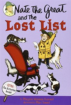 Nate the Great and the Lost List by Marjorie Weinman Sharmat https://www.amazon.com/dp/0440462827/ref=cm_sw_r_pi_dp_x_EKb.xbJ04TE2P