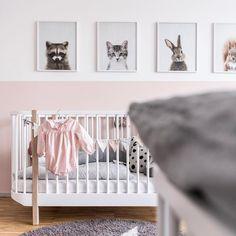 Kinderzimmer mit Babybett von Oliver Furniture #kidsroom #nursery #girlsroom