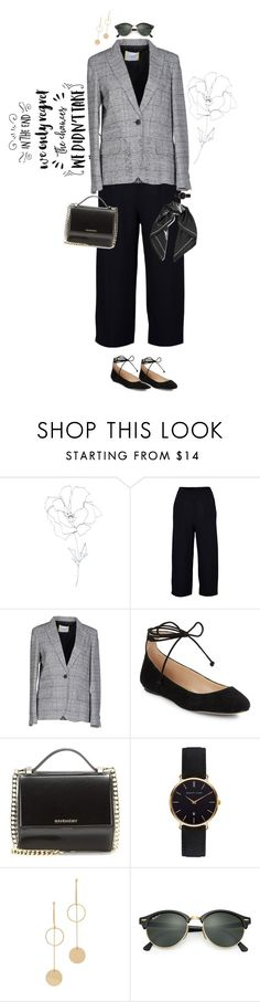 """end of WINTER #3"" by blueonyx25 ❤ liked on Polyvore featuring Blume, Boohoo, Iceberg, Karl Lagerfeld, Givenchy, Abbott Lyon, Cloverpost, Ray-Ban and Equipment"