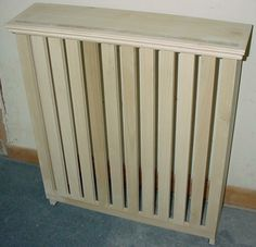 make your own radiator covers for extra shelf space. Black Bedroom Furniture Sets. Home Design Ideas
