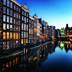 Amsterdam  Those canals though.