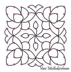 Rangoli Designs with Dots for Ugadi