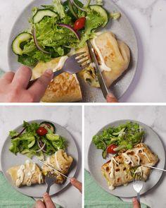Brunch Recipes, Breakfast Recipes, Breakfast Wraps, Healthy Snacks, Healthy Eating, Healthy Recipes, Pizza Wraps, South African Recipes, Diy Food