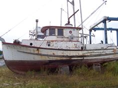 Old fishing boat we would like to restore.