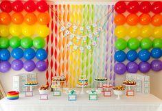 Facile la décoration avec des ballons !