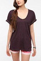 Truly Madly Deeply Scoopneck Pocket Tee  #UrbanOutfitters