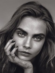 Cara Delevingne Most Googled Fashion Name 2013 The Face Vogue UK January 2014  Photographer: Alasdair McLellan Styled by: Kate Phelan Subtle...