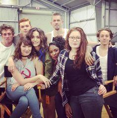 TV Stars Back at Work: Fall 2016 Photos