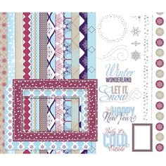 New Let it Snow Digital kit for My Digital Studio.  Love this. Kimberly Van Diepen stampin up demo