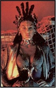 Catherine Shirriff as Valkris (Klingon agent) in Star Trek III: The Search for Spock (1984 movie)