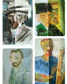 Van Gogh portre tamamlama