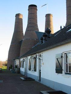 De Kalkovens, Huizen, Noord-Holland.