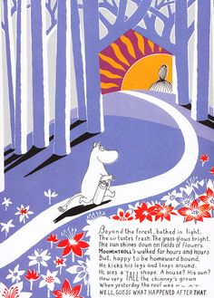 The Moomin series by Swedish-Finn artist, writer, comic strip creator, and children's book author Tove Jansson (1914–2001), recipient of the...
