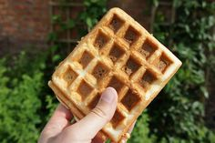 glutenvrije, lactosevrije wafels en geschikt voor FODMAP dieet