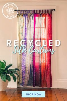 Silk Curtains, Shabby Chic Curtains, Curtains For Sale, Panel Curtains, Gypsy Curtains, Bedroom Curtains, Indie Room Decor, Bohemian Decor, Bohemian Furniture