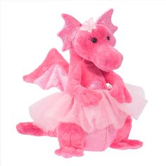 She says she's going to ask Santa for a dragon in a pink tutu this year. #done