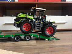 N/A Lego Truck, Lego Toys, Lego Group, Custom Lego, Lego Ideas, Fire Trucks, Projects For Kids, Diy And Crafts, Creations