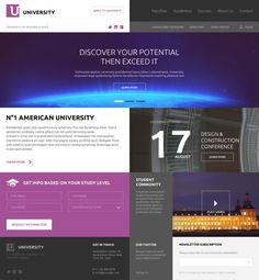 American University on Behance