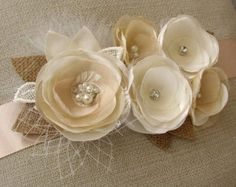 Vintage novia: marco boda rústica correa novia por GlamFloralBride
