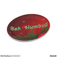 Bah Humbug Paper Plate