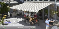 SunSetter offers five types of high quality awning models. SunSetter awning models include Motorized, Manual, Model and Oasis freestanding awning. Outdoor Awnings, Window Awnings, Awning Patio, Fabric Awning, Outdoor Fabric, Outdoor Spaces, Outdoor Living, Outdoor Decor, Outdoor Ideas