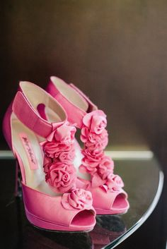 Pink Betsey Johnson Bridal Shoes | Nordstrom https://www.theknot.com/marketplace/nordstrom-seattle-wa-346321 | Clane Gessel Photography https://www.theknot.com/marketplace/clane-gessel-photography-seattle-wa-264745 | Gig Harbor, WA |