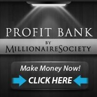 Profit Bank By Millionaire Society - Make $208 per day following my 1 click Formula! Profit Bank is a system that provides you the opportunity to earn a big amount of money online. This software is extremely user friendly and no practice or experience is required for you to create money making websites in no time. Mack has used this software program for 2 years and earned in excess of five million dollars. With this program, you can: - Create a website in minutes with this software.