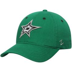 size 40 729cd ac464 Dallas Stars Zephyr Women s Relish Adjustable Hat - Kelly Green