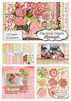 Hannah Digital Scrapbook Kit