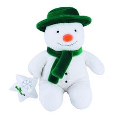 Plush Musical Snowman  // Christmas 2016 at the Owl Barn