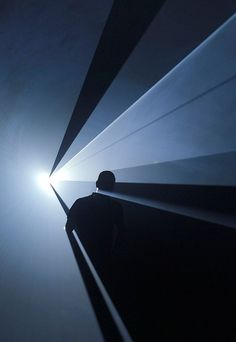 Anthony McCall, You and I Horizontal, 2006 Light And Space, Stage Lighting, Light Installation, Light Painting, Light Art, Light And Shadow, Art Direction, Light In The Dark, Photo Art