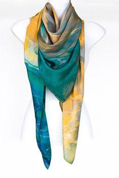 LENGYEL LEONA ONLINE SHOP #luxury #silk #scarf #sarong #fashion #womenscarf…