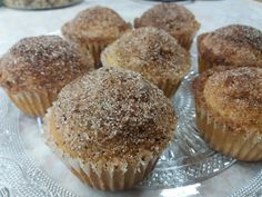 Donut Muffins, Donuts, Cooking Recipes, Cupcakes, Apple, Snacks, Cookies, Breakfast, Desserts