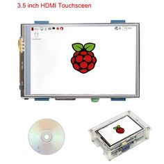 Raspberry Pi 3 Model B+ 3.5 inch HDMI Touchscreen 480x LCD Display + Acrylic Case +Touch Pen +HDMI Adapter for Raspberry Pi 3 Review Projetos Raspberry Pi, Display, Touch, Board, Model, Accessories, Floor Space, Billboard