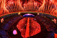 Photos of the Rio 2016 Olympics Opening Ceremony - The Atlantic