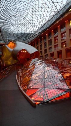 DZ Bank building in Berlin by Frank Gehry