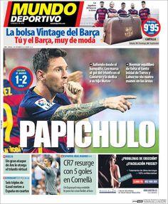 Portada Mundo Deportivo 13/09/2015