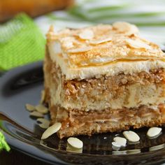 Fitness recepty z luštěnin Cooking Recipes, Healthy Recipes, Apple Pie, Tiramisu, Sugar Free, Granola, Smoothie, Food And Drink, Vegan