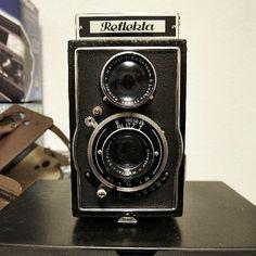 1940s Germany vintage camera, Reflekta TLR..i want