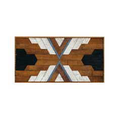 You'll be transfixed by this mesmerizing pattern—it's pretty much garanteed. With reclaimed wood, white, and cornflower blue accents, this piece is so attractive, you won't believe it's not a mirage.  Find the Knox Wall Art, as seen in the Modernism in the Mountains Collection at http://dotandbo.com/collections/modernism-in-the-mountains?utm_source=pinterest&utm_medium=organic&db_sku=122831