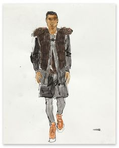 Richard Haines  Untitled 6 (A/W 2011 Men's Collections) for New York Times T Blog  February 2011