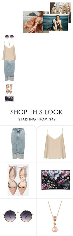 """""""Mermaid"""" by asmin ❤ liked on Polyvore featuring GET LOST, Bassike, Raey, Alexander McQueen, Spitfire, LE VIAN and colesprouse"""