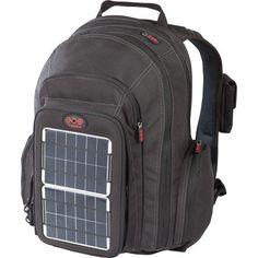 Voltaic Systems 1010 OffGrid Solar Backpack, Removable Front Charging Panel - 4W Solar Charger, 3000mAh Battery - For Handheld Electronics - Silver (cp) Voltaic Systems http://www.amazon.com/dp/B0042B385M/ref=cm_sw_r_pi_dp_55i1ub0M5N8H8