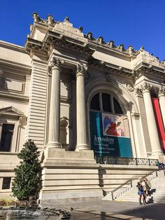 The Metropolitan Museum of Art, NYC - the exterior is nearly as beautiful as the interior!