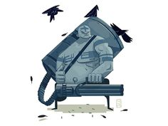 Vulcan raven designed by Elina Novak. Raven, Sci Fi, Illustration, Characters, Art, Art Background, Science Fiction, Ravens, Figurines