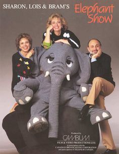 "The Elephant Show - ""Skinny marinky dinky dink, skinny marinky doo, I love you"""